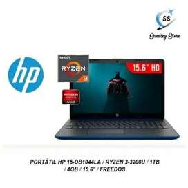 PORTÁTIL HP 15-DB1044LA