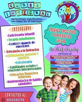 Psicoterapia Integral, Ludoterapia Infantil