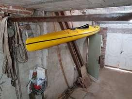 Kayak Supersingle para travesía o competición