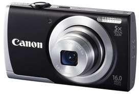 Camara digital Canon powershot A2600 importada de Chile