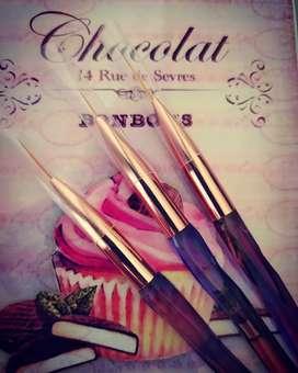 Pinceles Decorativos para Nail Art