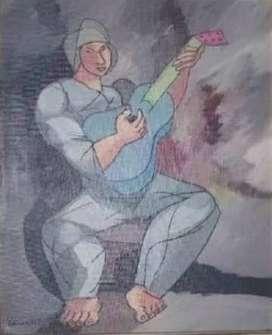 Vendo o Cambio Pintura Gilberto Almeida Acuarela 45x55