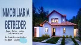Vdo Campo de 450 Ha, c/200 limpias. Casa, s/ruta.