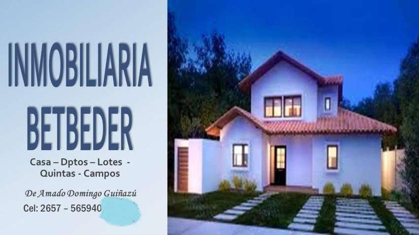 Vdo Campo de 450 Ha, c/200 limpias. Casa, s/ruta. 0