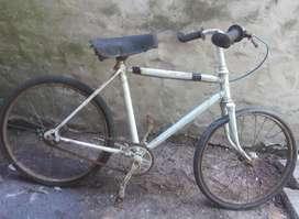 Bicicleta/Cuadro Antiguo Usado Para Niños Rodado 20