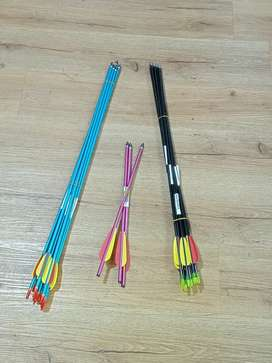 Repuesto flechas para arco deportivos.