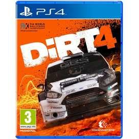 Vendo Dirt 4 Ps4 Como Nuevo
