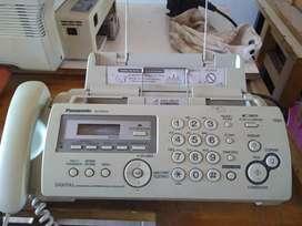 Teléfono Fax PANASONIC KX FP 215