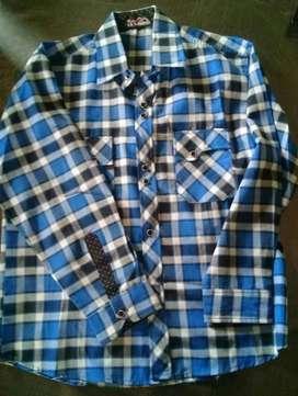 Camisa Escosesa de Niños