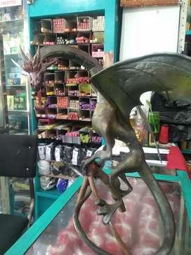 Estatua Dragón porcenalicron 40cm