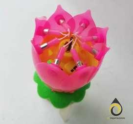 Vela magica Flor
