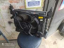 Motoventilador,condensador A.A y radiador Chevrolet spark GT