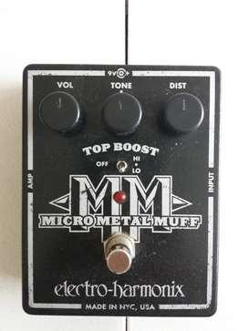Micro Metal Muff pedal
