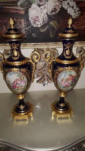 Porcelana con bronce