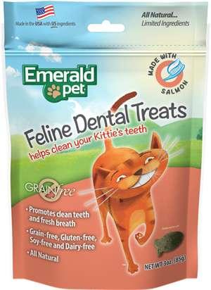 Snacks para Gatos cuidan los dientes Emerald Pet Cat Snack Dental