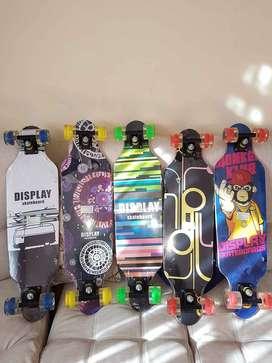 Skates,Tablas 100% en madera canadiense Gratis domicilio.