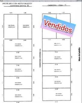 Vendo lotes de 200 M2 en Huanuco