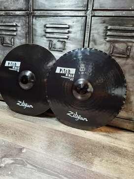 "Platillos hats Zildjian Pitch Black 15"""