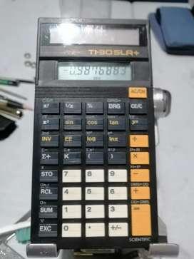 Calculadora Texas 30x sla solar científica
