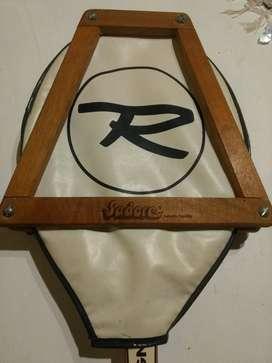 Raqueta de tenis Rossignol Radian madera antigua