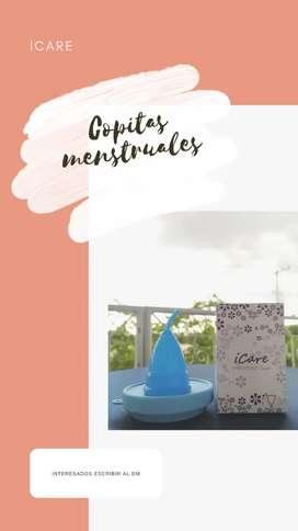 Copitas menstruales+ vaso esterilizador
