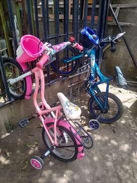Bicicleta para niños (niño-niña)
