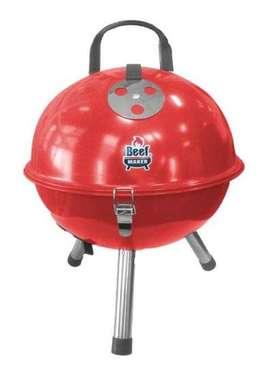 Parrilla Carbón Spring-Ball Rojo NUEVO