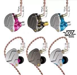 Auriculares In Ears KZ ZSN pro   2 vias