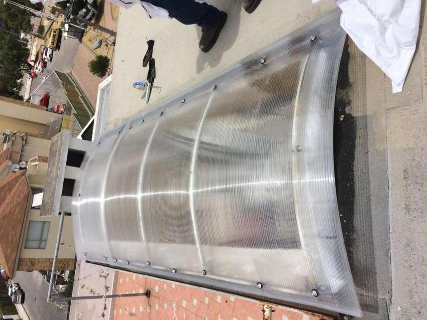 Instalacion de cubiertas de policarbonato 0