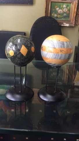 Esferas en marmol