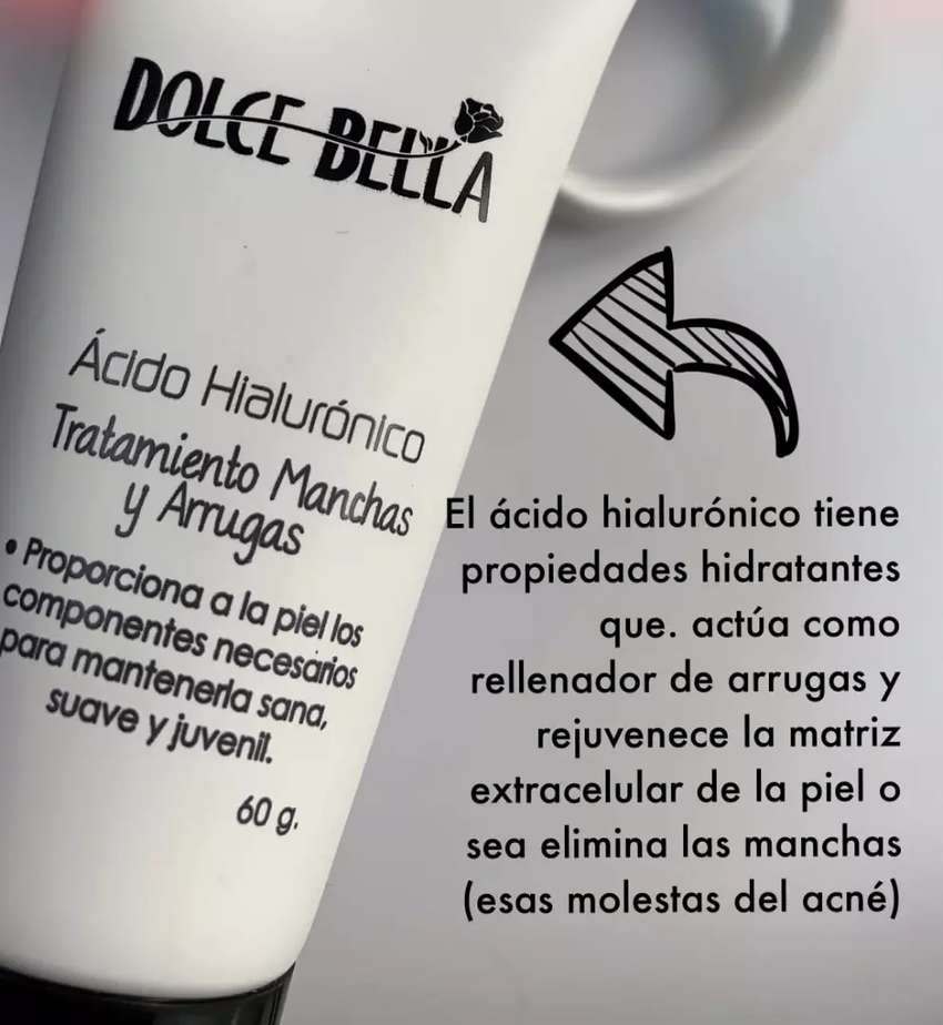 ÁCIDO HIALURÓNICO DOLCE BELLA