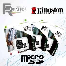 Memoria Microsd 100mb/s Kingston Microsdhc 16/64/128gb Nuevo