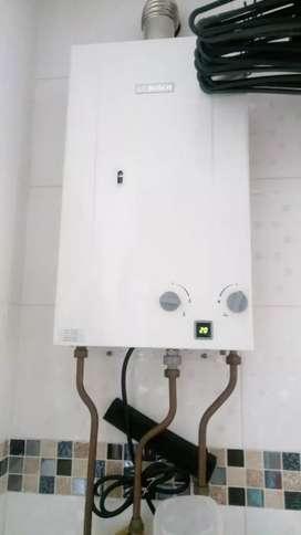 reparación calentadores a gas  electricos