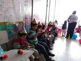 Fiestas infantiles, decoración en globos según temática, payasos, globoflexia, juegos competitivos en Bogota