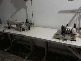 Máquina Plana Y Fileteadora Industrial.