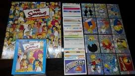 Album Los Simpsons Panini  Set a Pegar