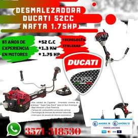 MOTOGUADAÑA DUCATI 52CC 1.7HP 1.3KW