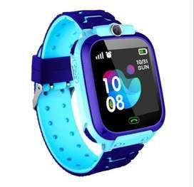 Reloj GPS Para Niños Azul- Gps & Sim Card Sos - Camara