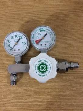 Manómetro Usado Para Balon de Oxigeno- Western Medica en buen estado 9/10.