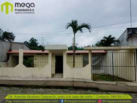 Vendo casa en obra gris sector via Aventura