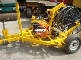 WINCHES PARA ENVOLVER CABLES- DIVERSOS con motor -made in INGLATERRA