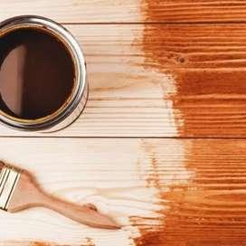 Tintes para madera en aceite y en agua