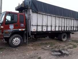 De Oportunidad camión con linea listo para trabajar