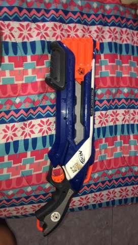 Nerf escopeta 2x4