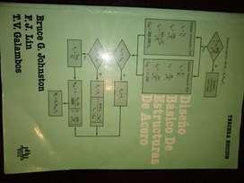 Diseño Básico de Estructuras de Acero Autor Bruce Johnston Lin tercera edición