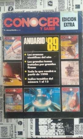 Revista Conocer Y Saber Anuario 1989