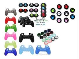 forros y grips ps4 xbox 360 xbox one ps3