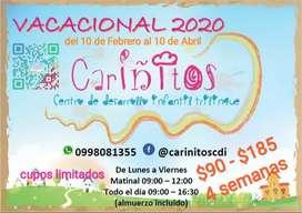 Vacacionales Cariñitos 2020
