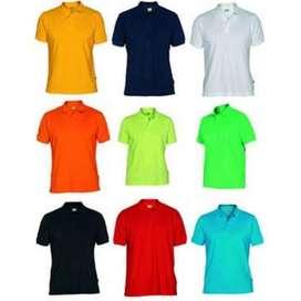 Camisa tipo polo color