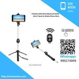 Selfie Stick Monopod Tripode Bluetooth para celular